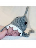 Infant Gray Shark Hat w/ Teeth buy now