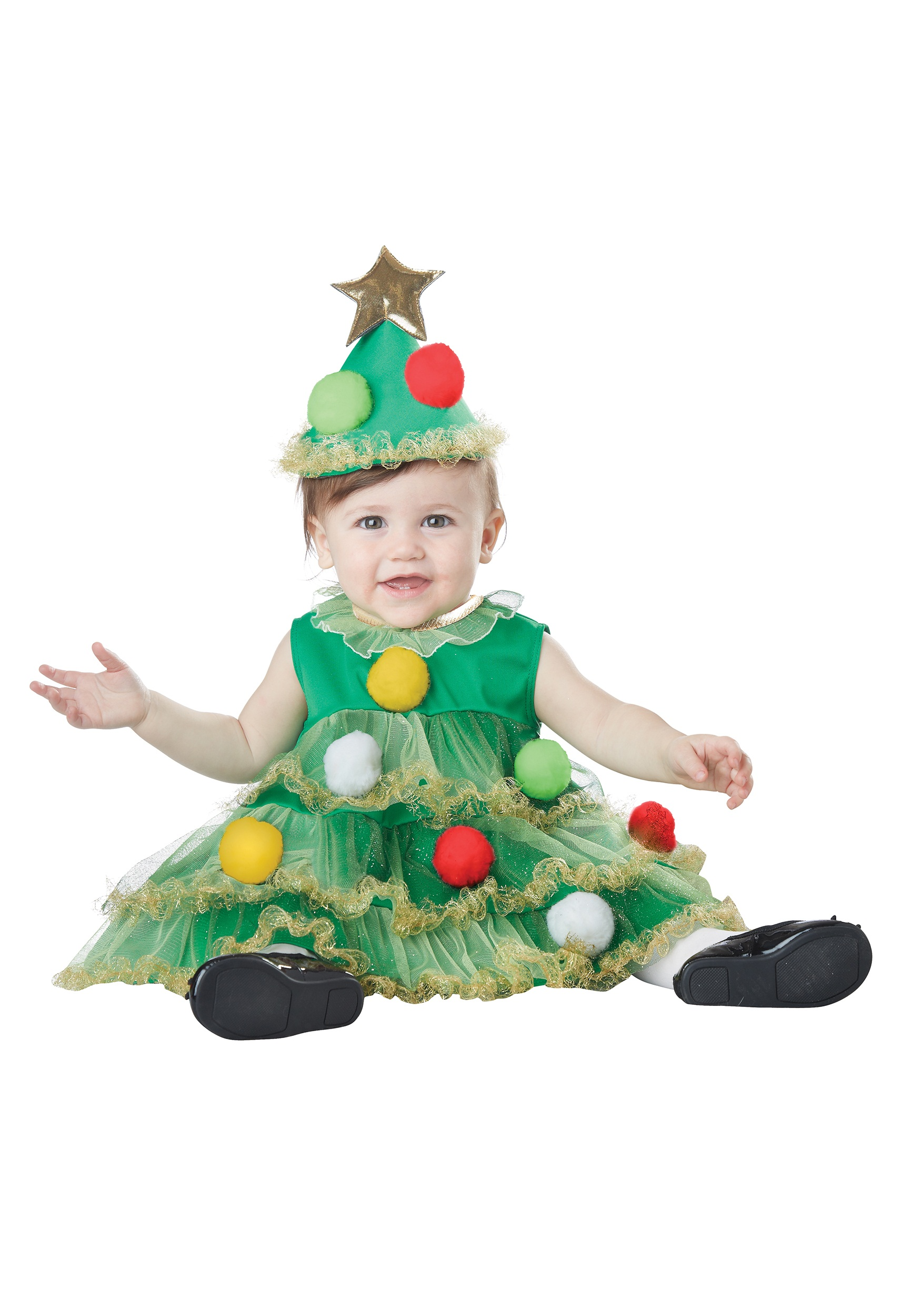 Infant Christmas Tree Costume - Halloween Costumes