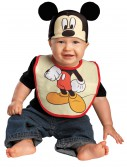 Infant Mickey Mouse Hat and Bib Set buy now