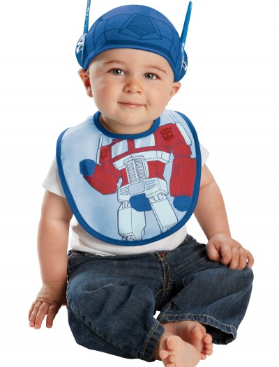Infant Optimus Prime Hat and Bib Set buy now