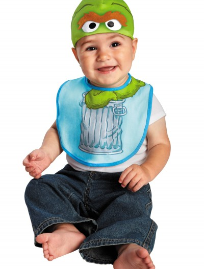 Infant Oscar the Grouch Hat and Bib Set buy now