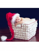 Infant Red Tail Hat with Eyelash Trim buy now