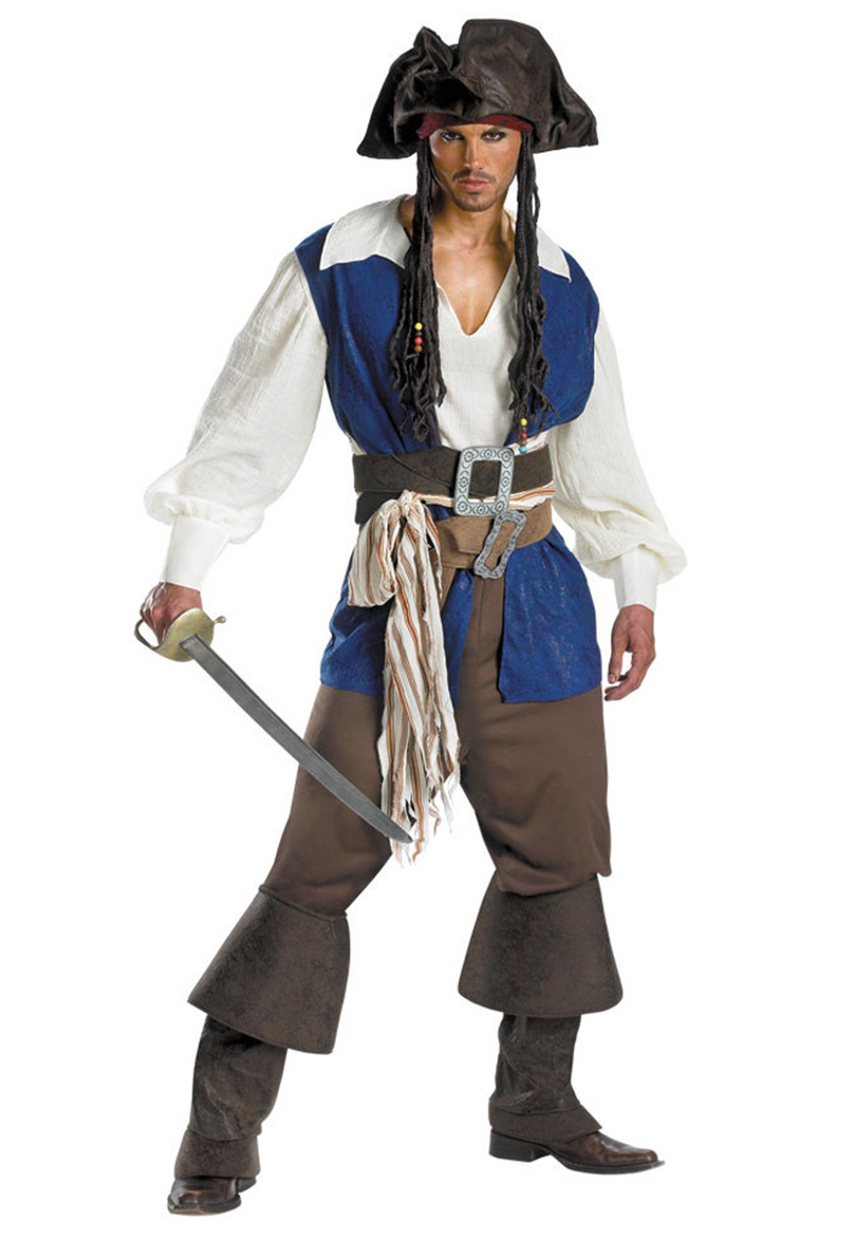 Jack Sparrow Plus Size Costume Halloween Costumes