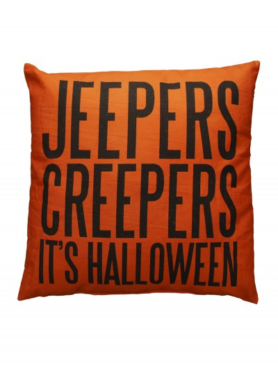 Jeepers Creepers Pillow buy now