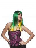 Jewel Emerald and Yellow Wig buy now