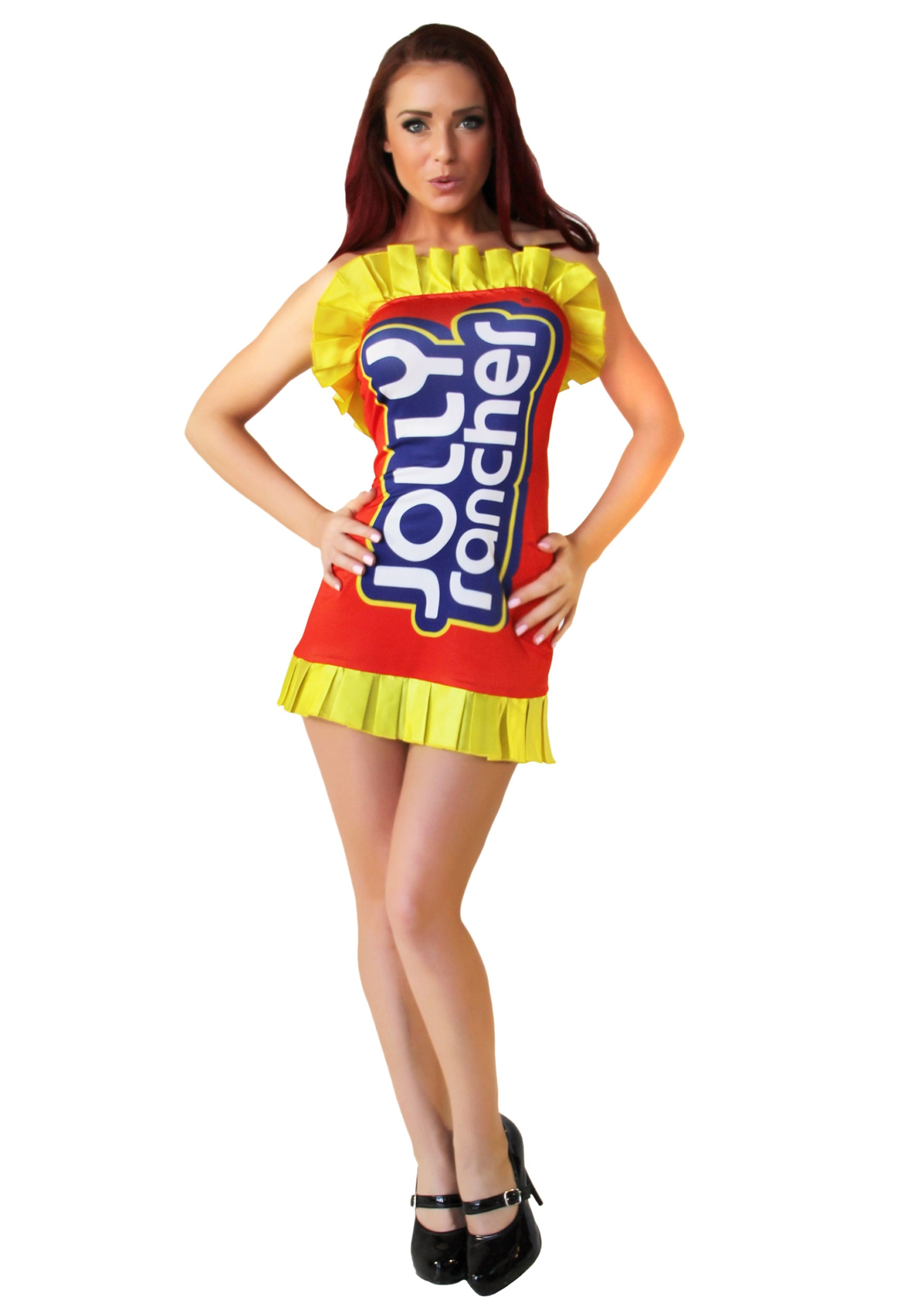 jolly rancher red costume dress - halloween costumes