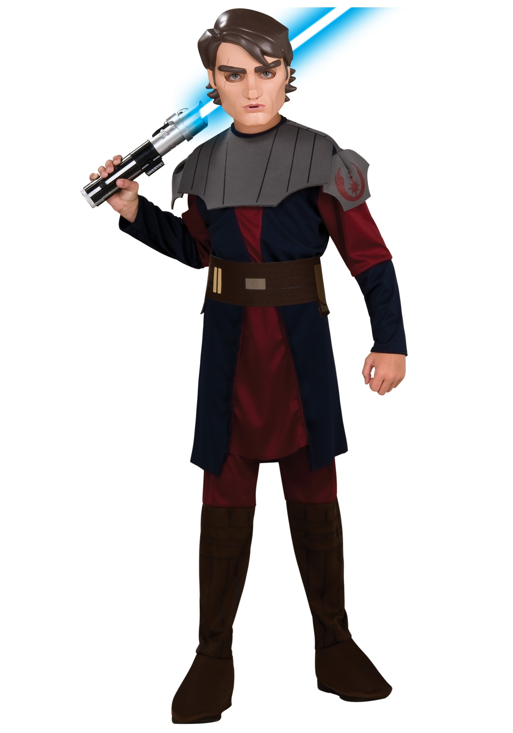 Kids Anakin Skywalker Clone Wars Costume  sc 1 st  Halloween Costumes : orphan costumes for kids  - Germanpascual.Com