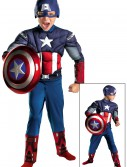 Kids Avengers Captain America Muscle Costume buy now