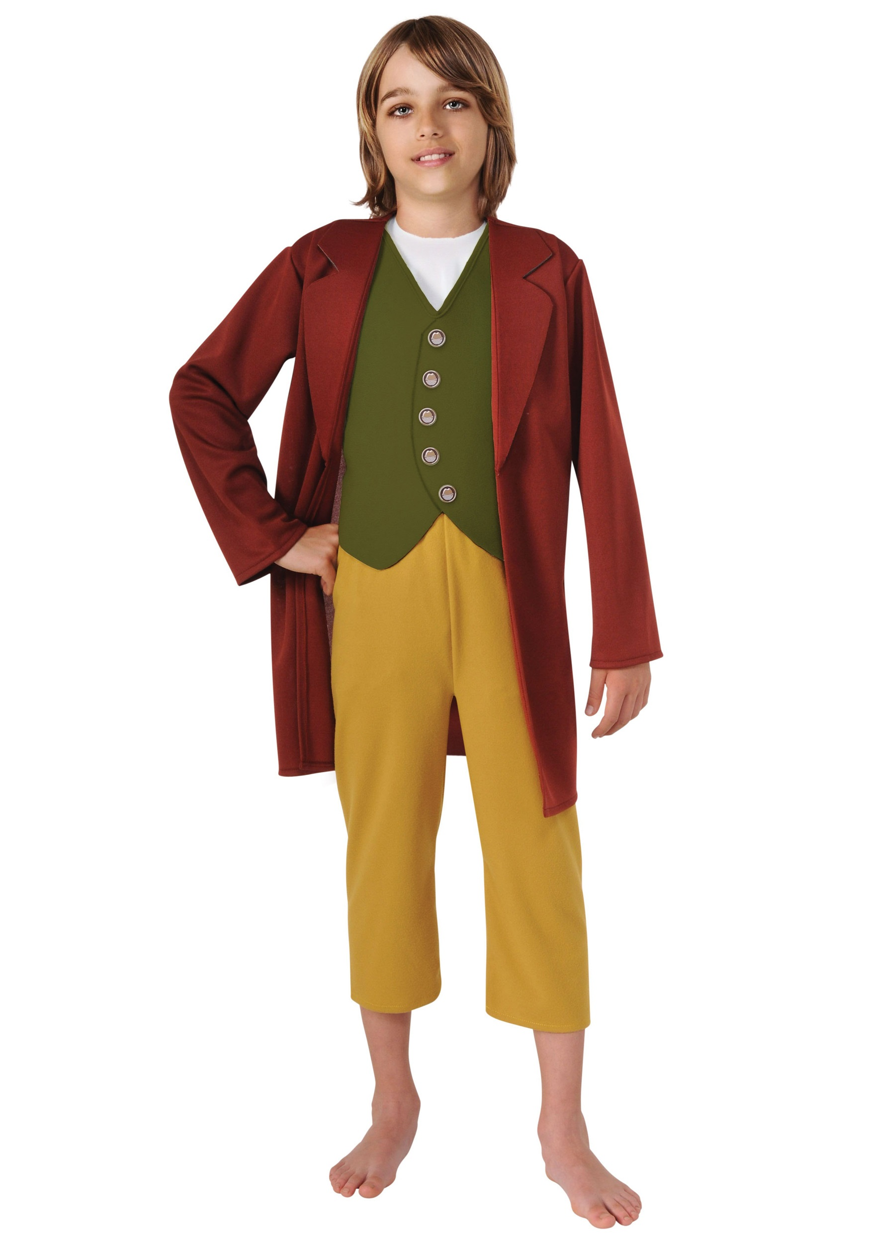 Kids Bilbo Baggins Costume  sc 1 st  Halloween Costumes & Kids Bilbo Baggins Costume - Halloween Costumes