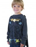 Kids Black Batman Long Sleeve Costume Shirt buy now