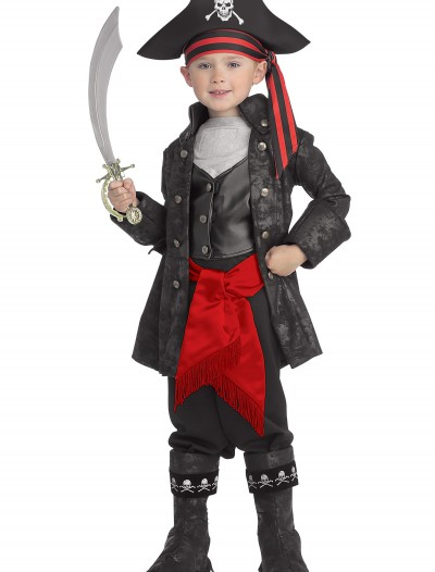 Kid's Captain Black Pirate Costume buy now