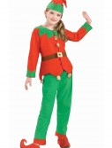 Kids Christmas Elf Costume buy now