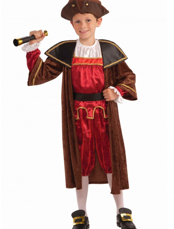 Kids Christopher Columbus Costume buy now