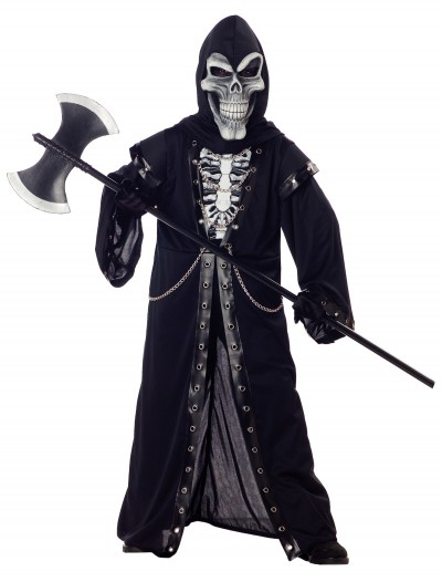 Kids Crypt Master Skeleton Costume buy now