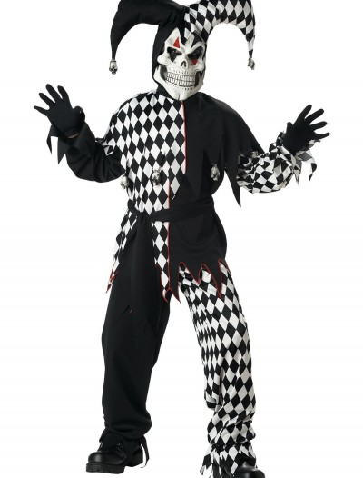 Kids Dark Jester Costume buy now