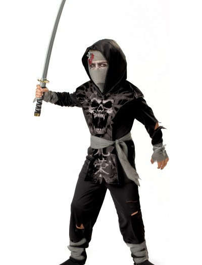 Kids Dark Zombie Ninja Costume buy now