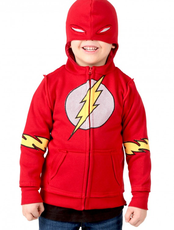 Kids DC Flash Costume Hoodie buy now