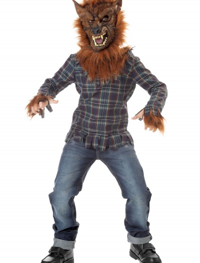 Kids Deluxe Blue Werewolf Costume buy now