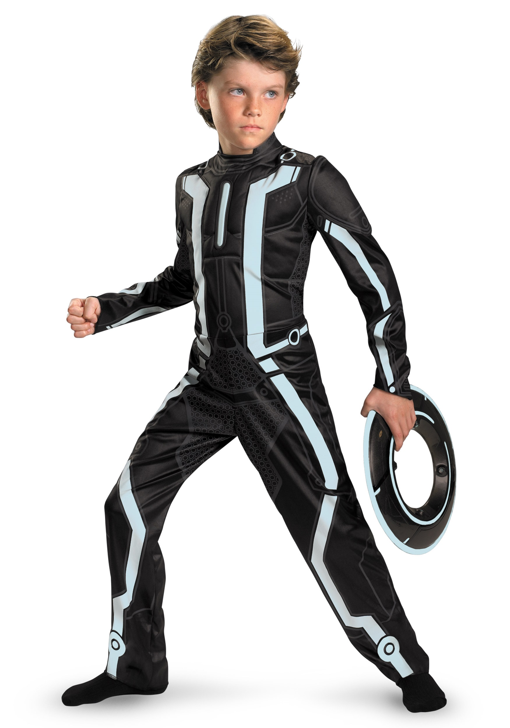Kids Deluxe Tron Costume  sc 1 st  Halloween Costumes : shadow costume for kids  - Germanpascual.Com