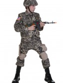 Kids Deluxe Army Ranger Costume buy now