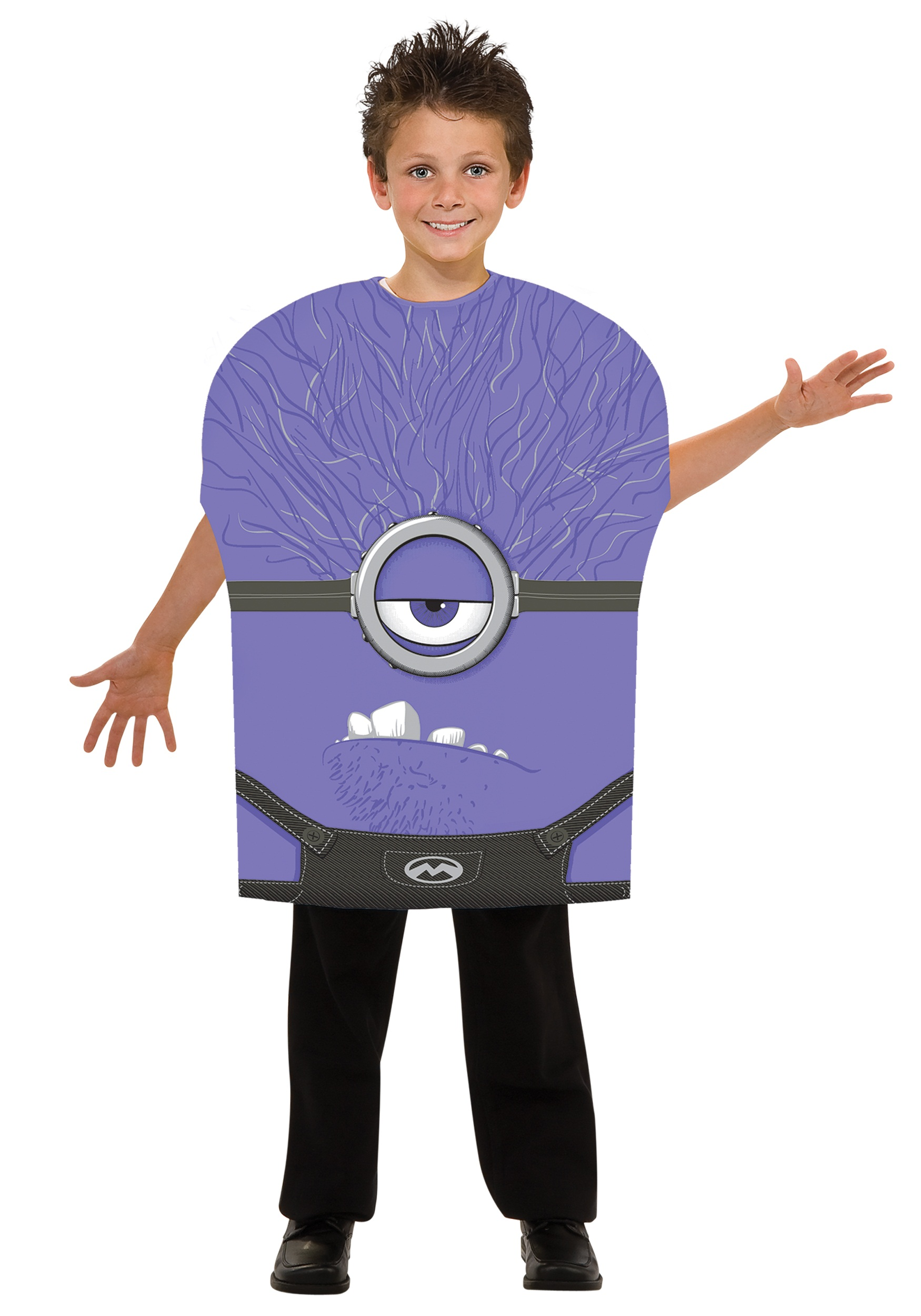 Kids Despicable Me 2 Evil Minion Costume  sc 1 st  Halloween Costumes : minion costume for halloween  - Germanpascual.Com