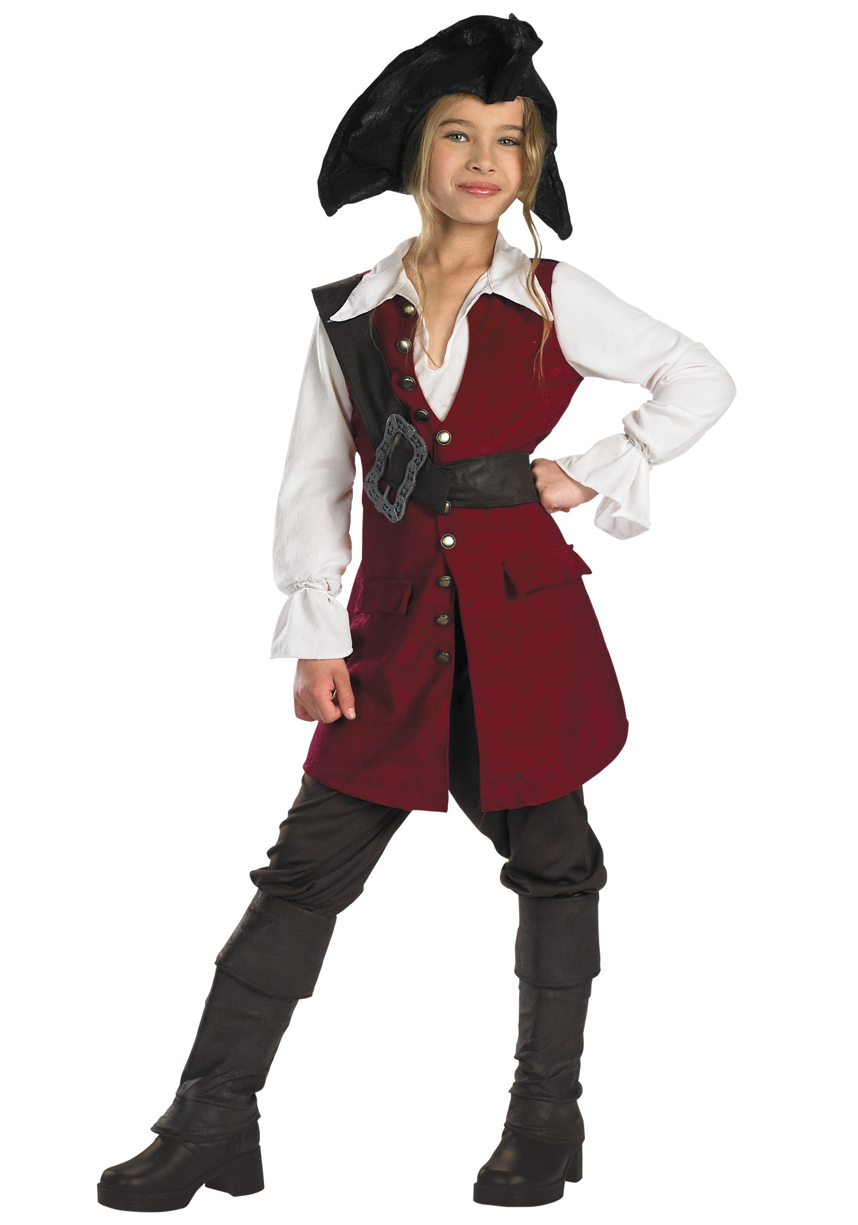 Kidu0027s Elizabeth Swann Pirate Costume  sc 1 st  Halloween Costumes : kids pirates costume  - Germanpascual.Com