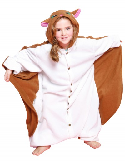 Kids Flying Squirrel Pajama Costume buy now