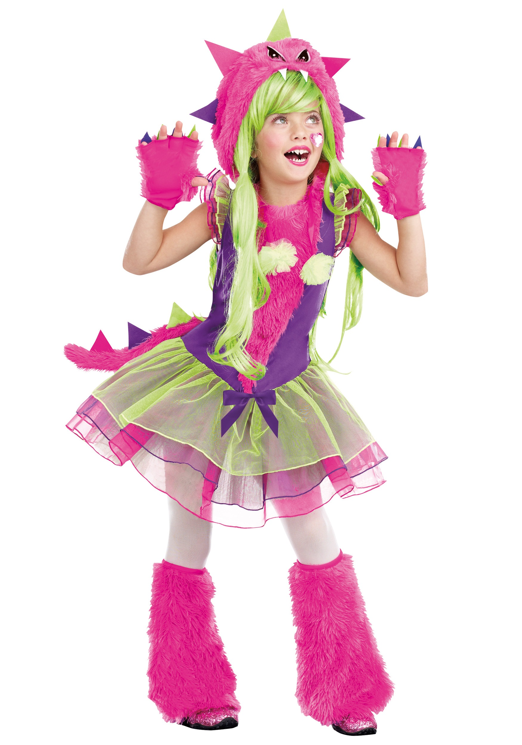 kids fur ocious lil creature costume