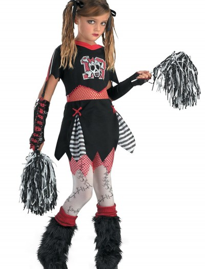 Kids Gothic Cheerleader Costume buy now