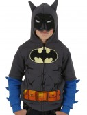 Kids Grey Batman Costume Hoodie buy now