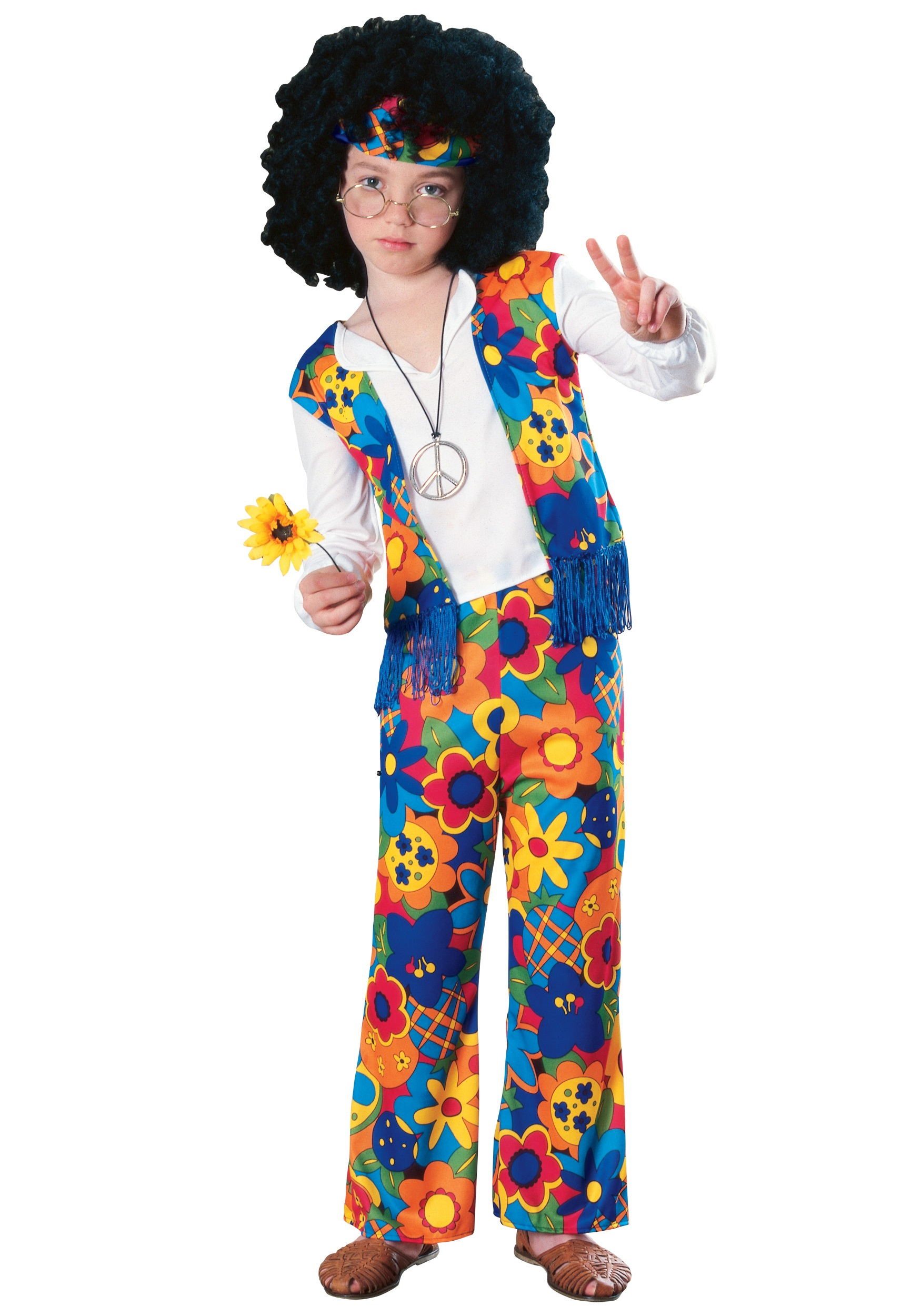 Kids Hippie Costume  sc 1 st  Halloween Costumes : toddler hippie costume  - Germanpascual.Com