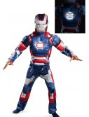 Kids Iron Patriot Muscle Light Up Costume buy now