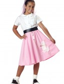 Kids Pink Poodle Skirt buy now