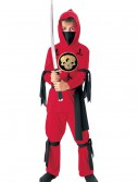 Kids Red Ninja Costume buy now