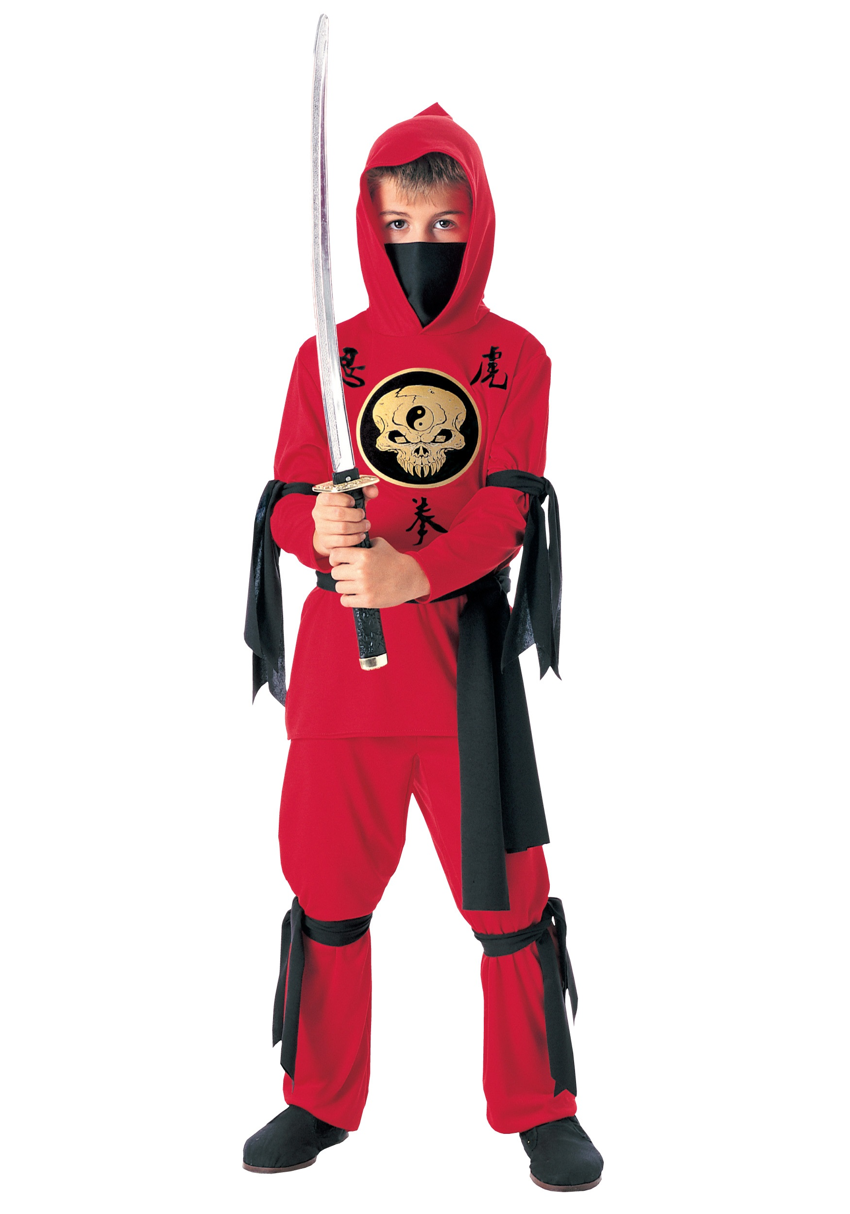 Kids Red Ninja Costume  sc 1 st  Halloween Costumes & Kids Red Ninja Costume - Halloween Costumes