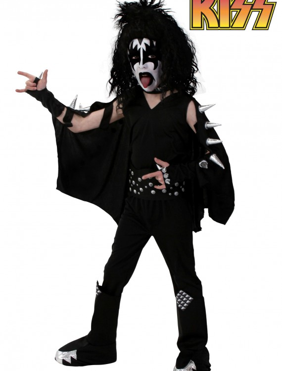 Kids Screenprint KISS Demon Costume buy now