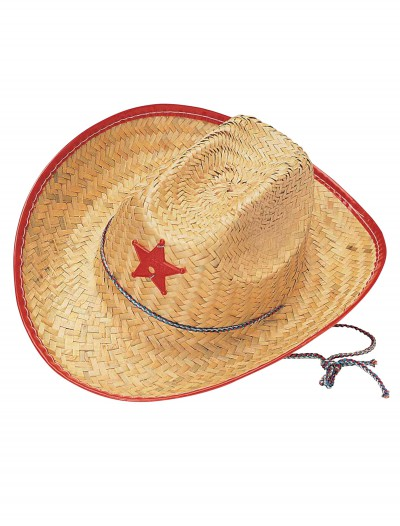Kids Straw Cowboy Hat buy now