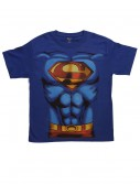 Boys Superman Costume T-Shirt buy now
