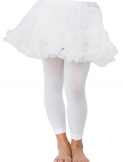 Kids White Petticoat buy now