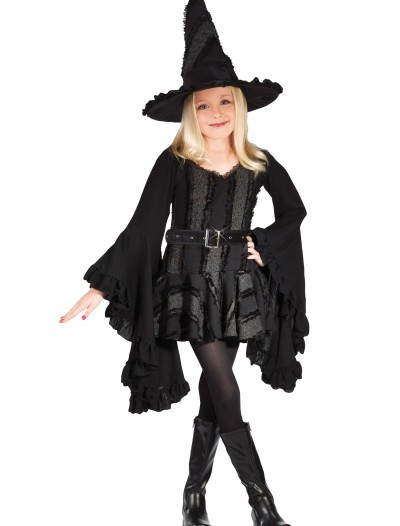 Girls Black Witch Costume buy now