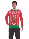Kiss Me Under the Mistletoe Christmas Sweater buy now
