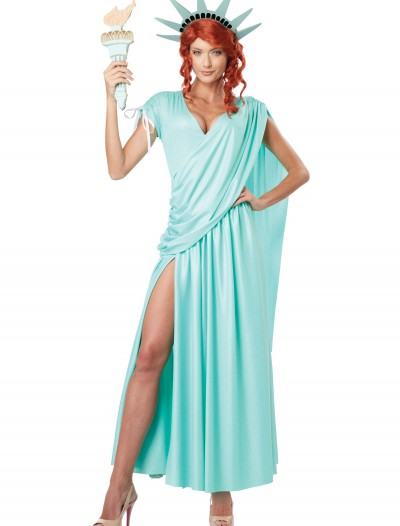 Lady Liberty Plus Size Costume buy now