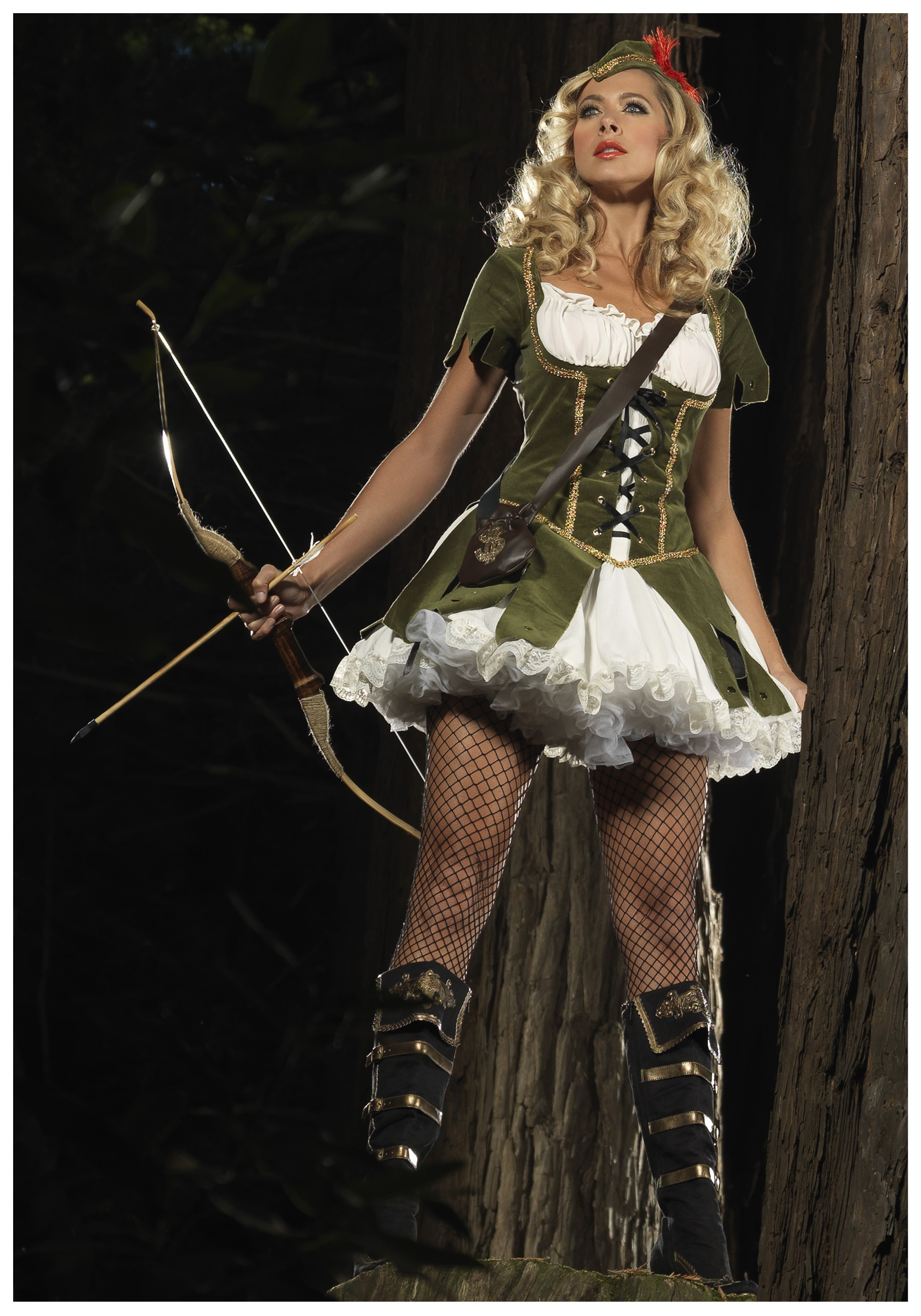 Lady Robin Hood Costume  sc 1 st  Halloween Costumes : robin halloween costume women  - Germanpascual.Com