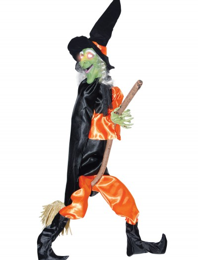 Leg Kicking Witch w/ Broom buy now