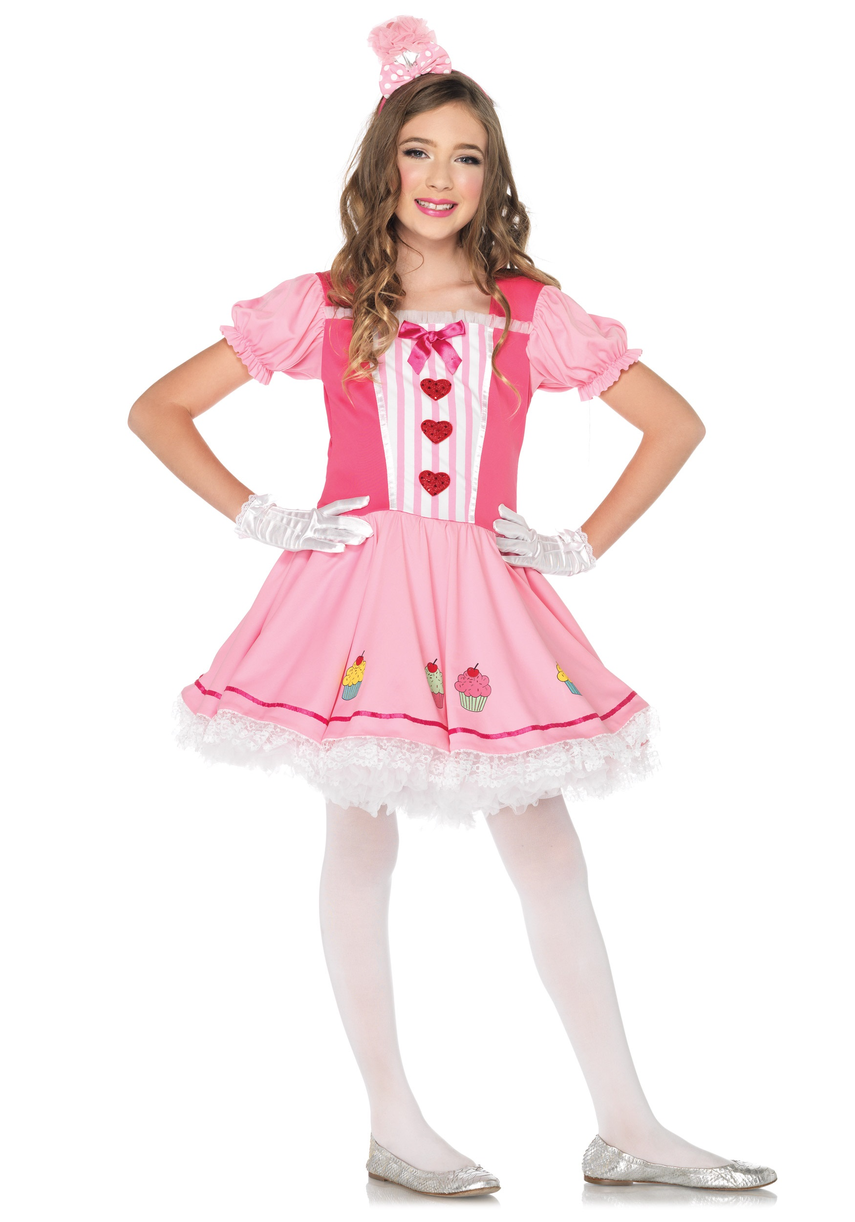 Lil Miss Cupcake Costume - Halloween Costumes