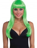 Long Neon Green Wig buy now