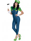 Women's Deluxe Luigi Costume buy now