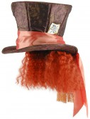 Mad Hatter Hat w/Hair buy now
