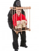 Man in a Gorilla Cage Costume buy now