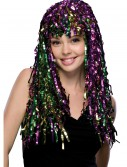 Mardi Gras Tinsel Wig buy now